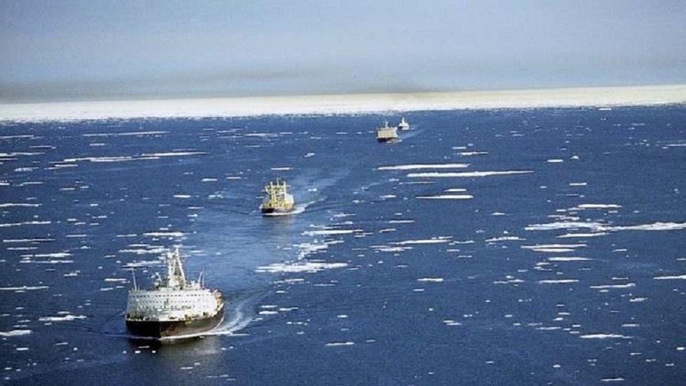 نمو تدفق البضائع عبر ممر الشحن الشمالي الروسي