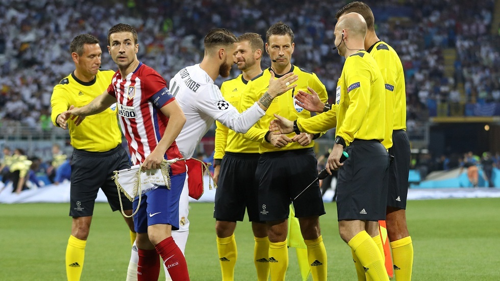 حكم نهائي دوري أبطال أوروبا 2016 يعترف: هدف راموس جاء من تسلل (فيديو)
