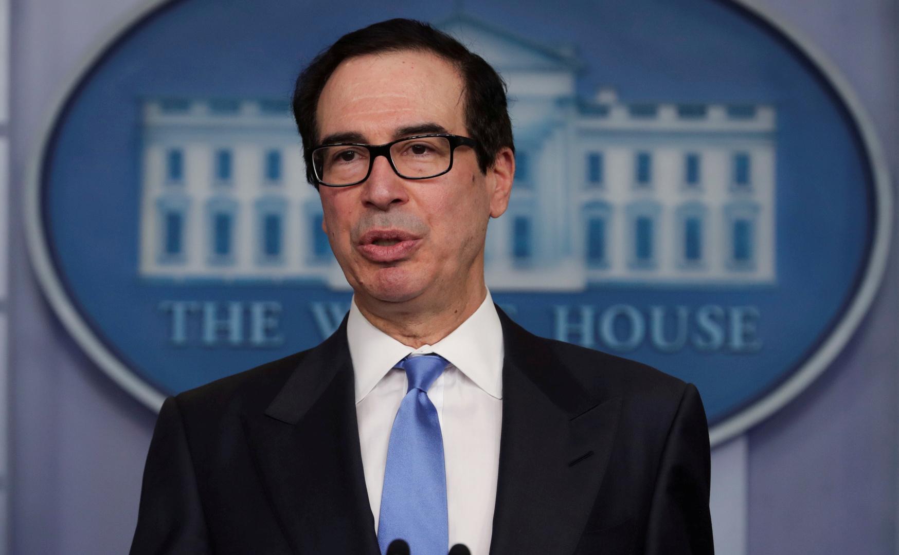 وزير الخزانة الأمريكي: ترامب يدرس جميع الخيارات بشأن الصين