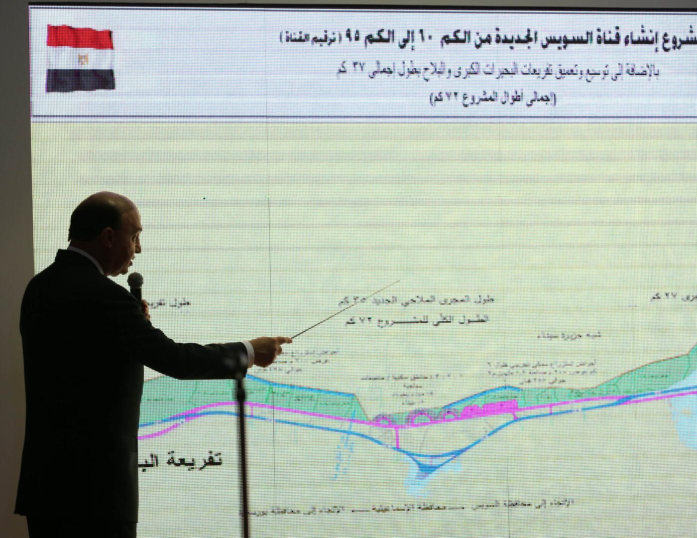 قناة السويس - مهاب مميش