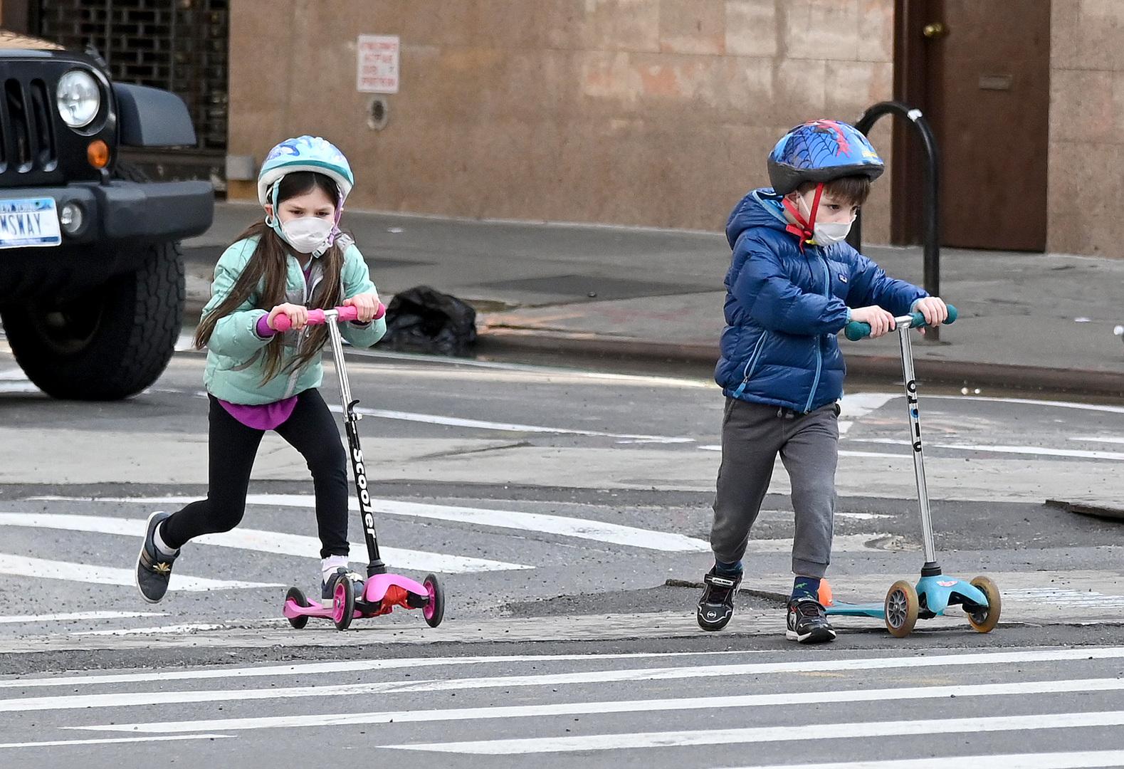 تقرير: أكثر من 200 حالة لمتلازمة خطيرة لدى الأطفال في الولايات المتحدة