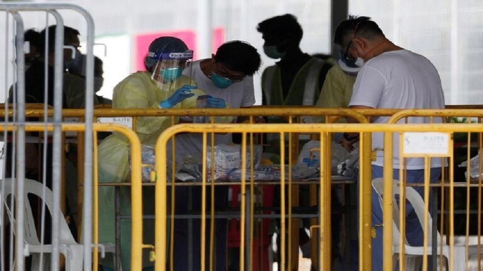 سنغافورة تسجل 465 إصابة جديدة بفيروس كورونا