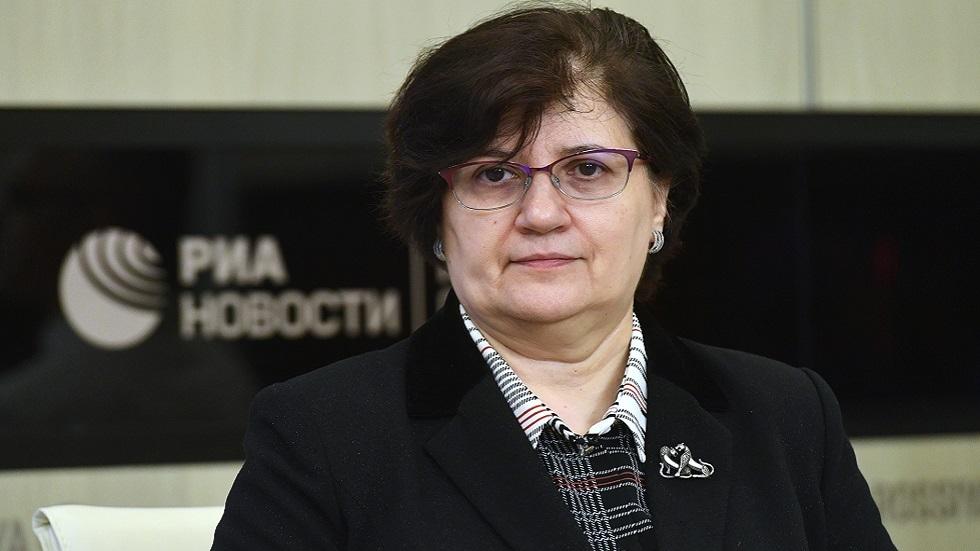 ممثلة منظمة الصحة العالمية في روسيا ميليتا فوينوفيتش (صورة أرشيفية)