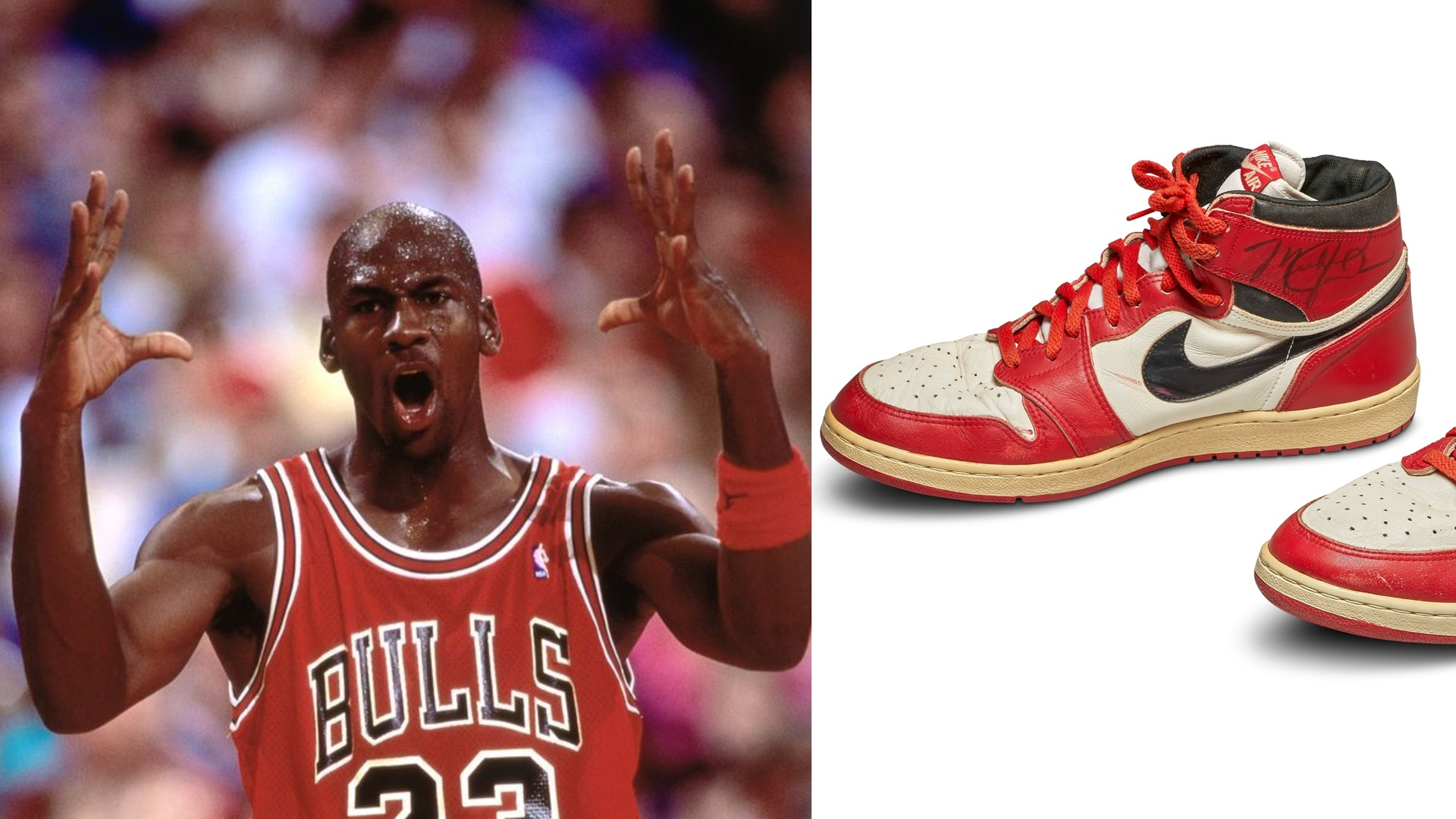 الحنين يجعل حذاء مايكل جوردان الأغلى في التاريخ