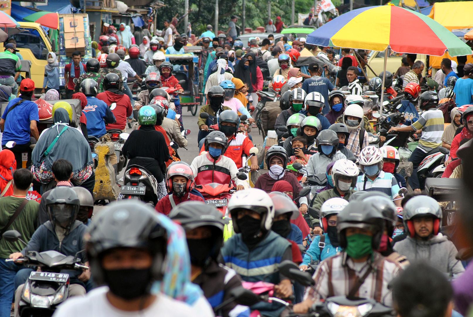 إندونيسيا تسجل أكثر من 18 ألف إصابة بكورونا