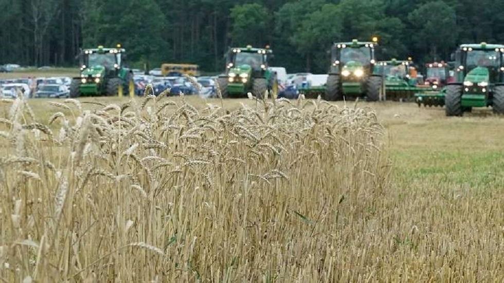 صادرات أوكرانيا من الحبوب تسجل مستوى قياسيا مرتفعا