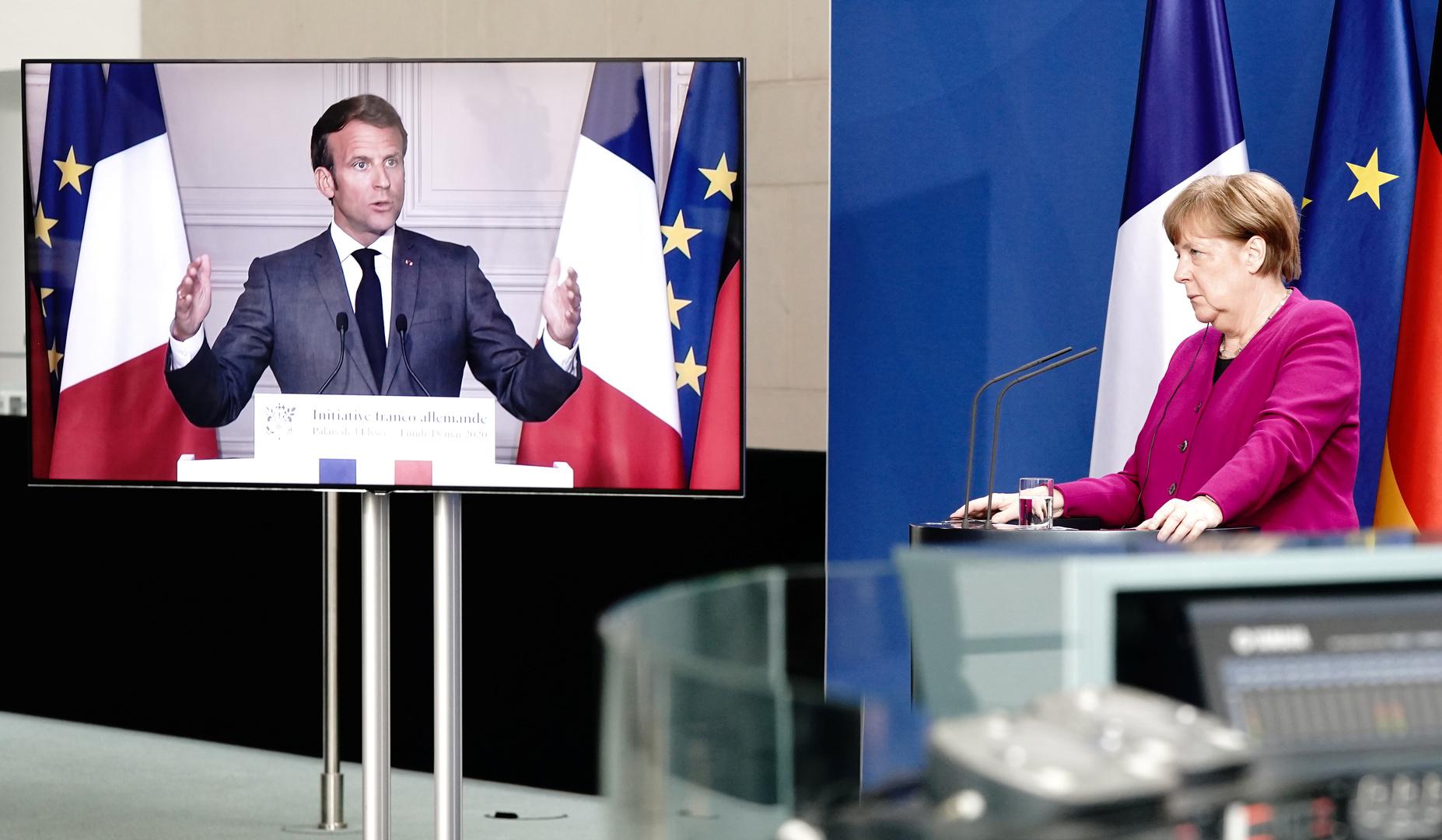 فرنسا وألمانيا تقترحان خطة نهوض للاقتصاد الأوروبي بقيمة 500 مليار يورو