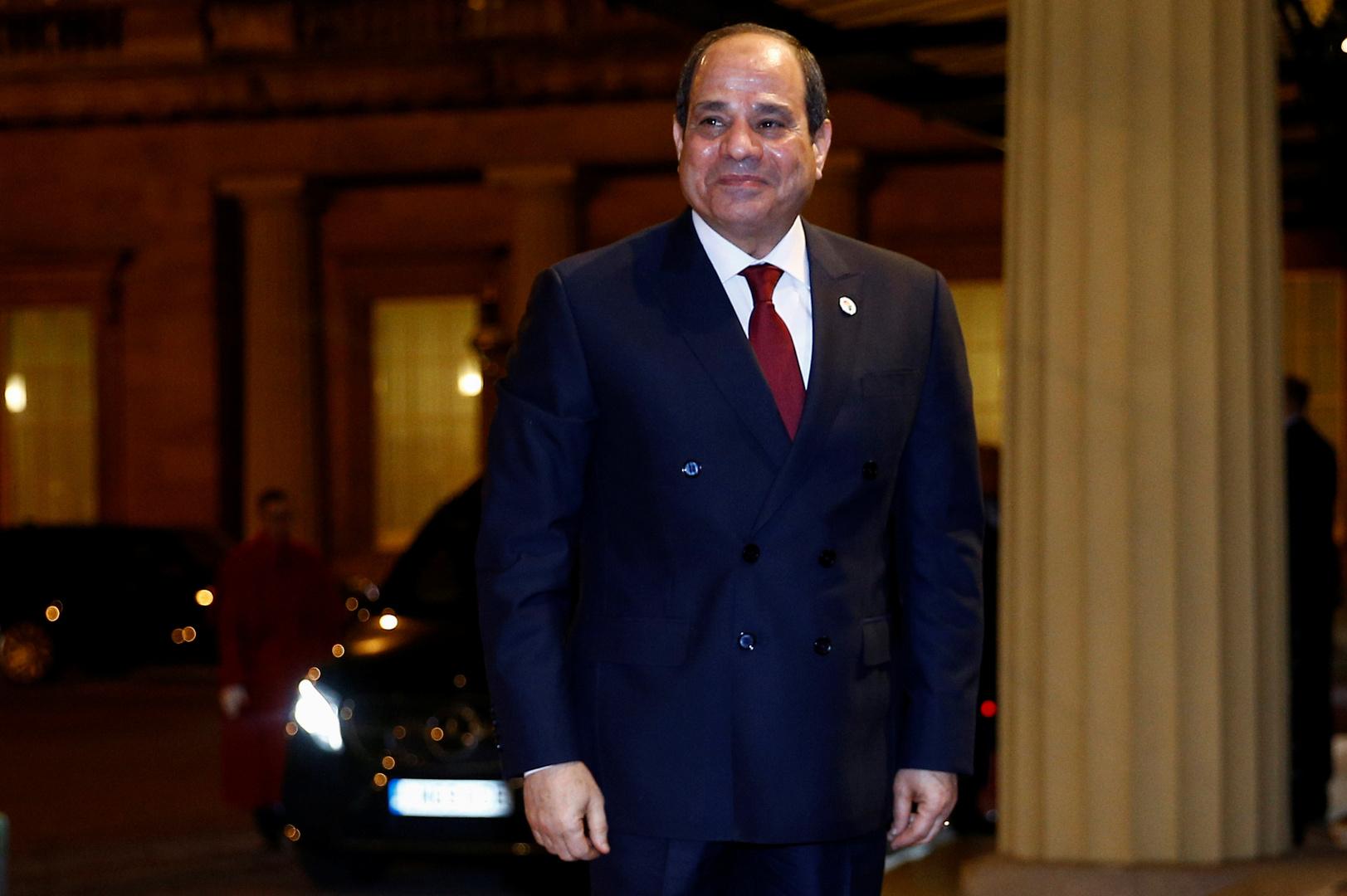 السيسي: استقرار ليبيا من محددات الأمن القومي المصري ولن نتهاون مع الجماعات الإرهابية والداعمين لها