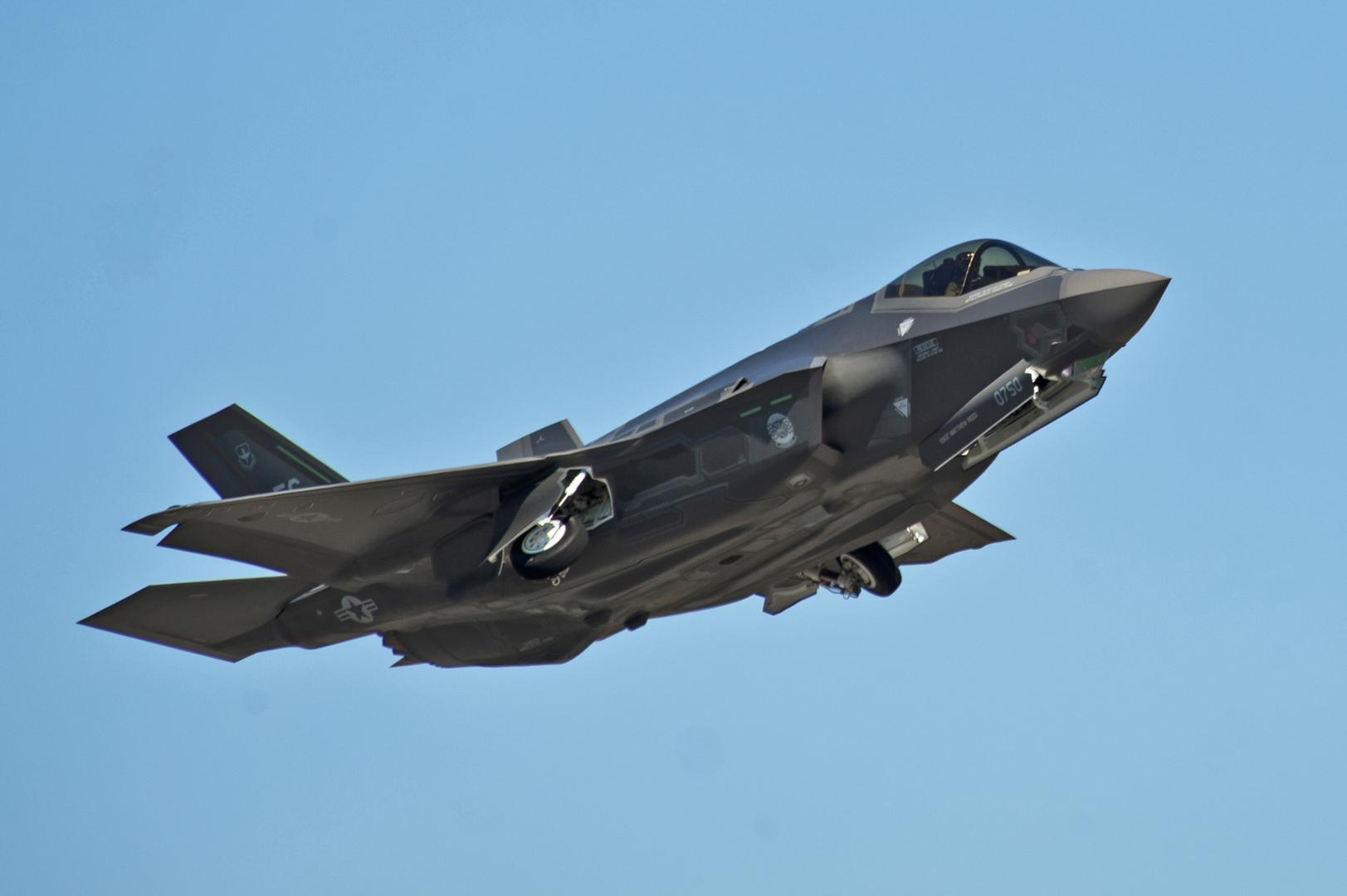 المقاتلة الأمريكية إف 35