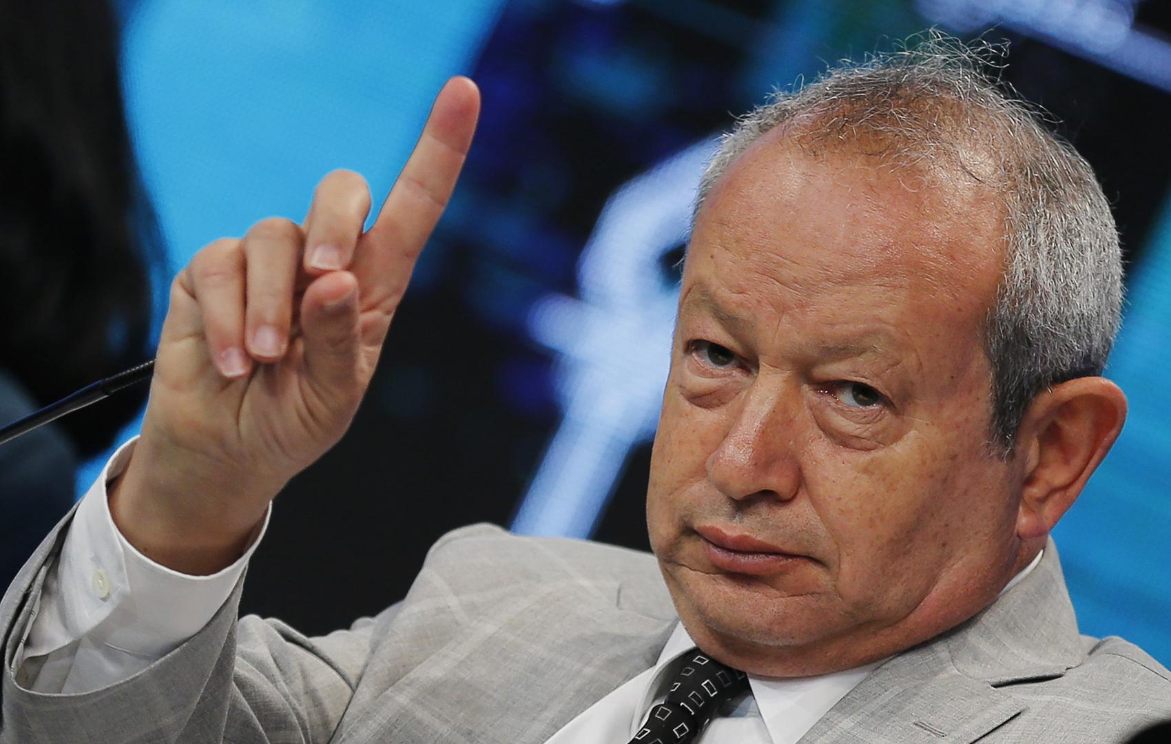 رجل الأعمال المصرينجيب ساويرس