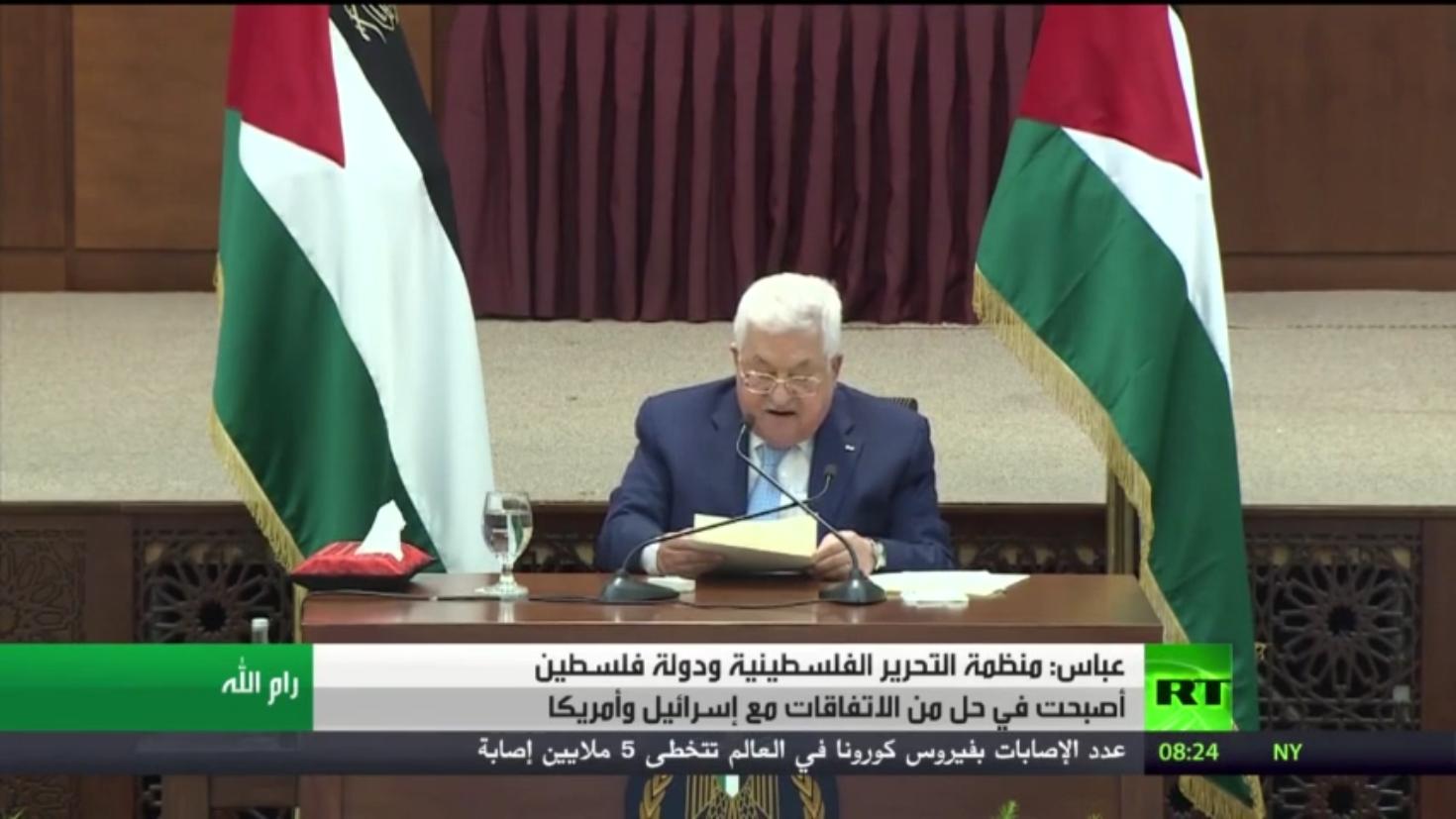 عباس: نحن في حل من كل الاتفاقات مع إسرائيل