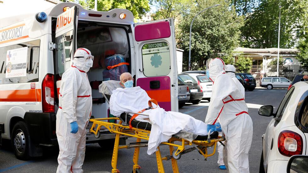 إيطاليا تسجل 161 وفاة جديدة ناجمة عن فيروس كورونا