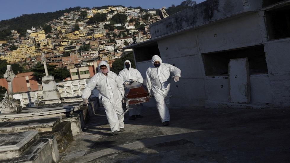 البرازيل تتصدر قائمة دول أمريكا اللاتينية بضحايا فيروس كورونا