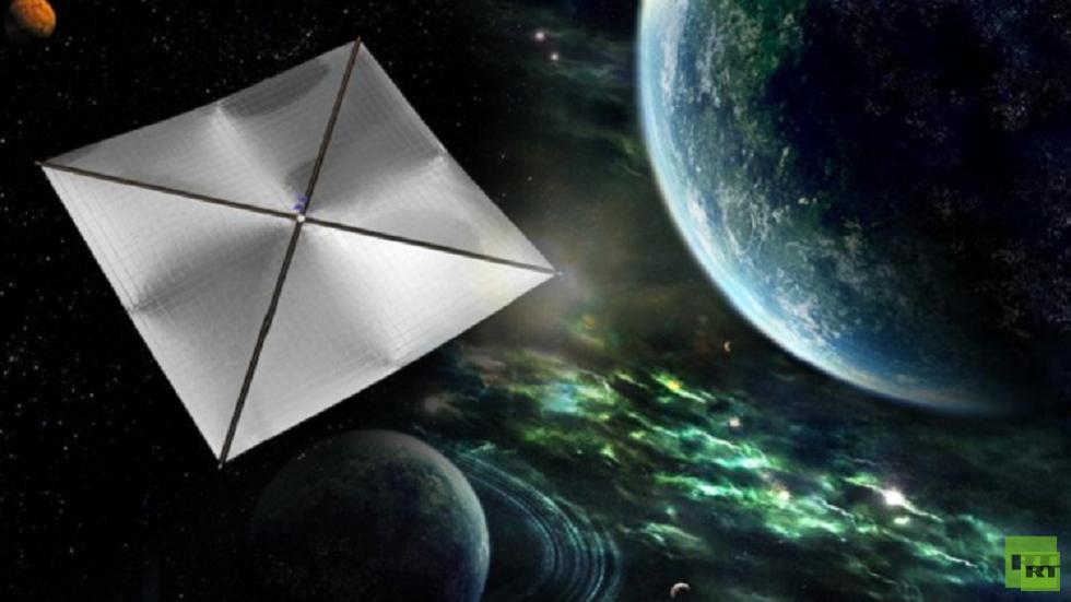 اختبار شراع غرافيني للرحلات الفضائية البعيدة