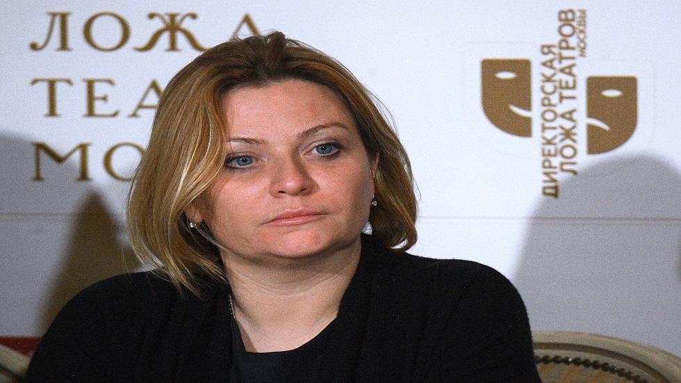وزيرة الثقافة الروسية/ أولغا ليبيموفا
