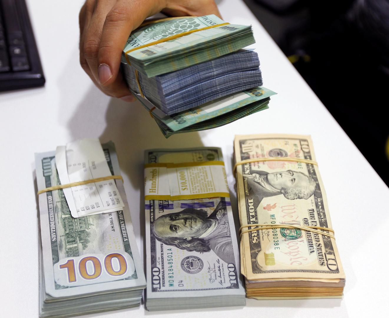 مصرف لبنان يبدأ إجراءات للجم ارتفاع سعر الدولار