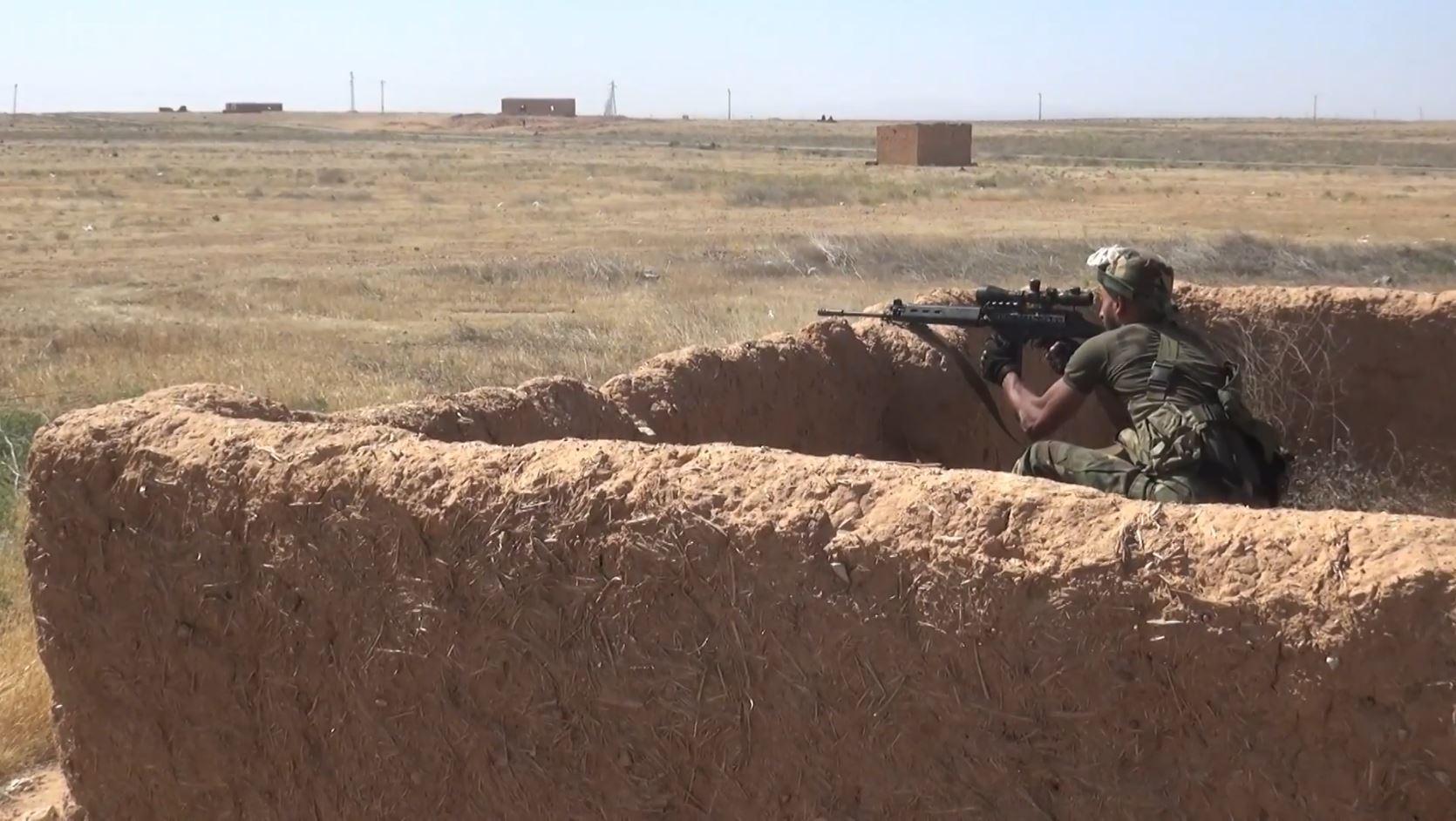الجيش السوري يواصل عملياته ضد