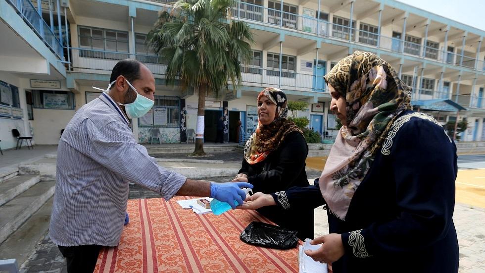 الإجراءات الوقائية في قطاع غزة - أرشيف