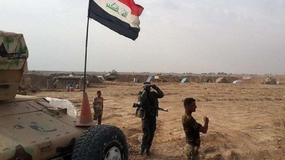 القوات العراقية في محافظة صلاح الدين - أرشيف