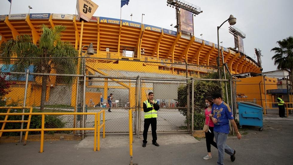 إلغاء موسم الدوري المكسيكي بسبب مخاوف كورونا