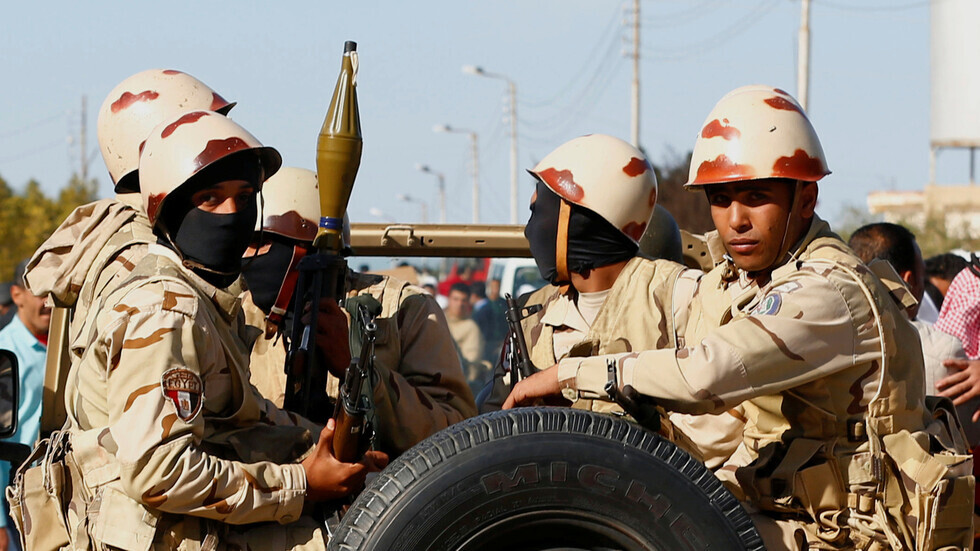 مصر.. مقتل 21 إرهابيا في تبادل لإطلاق النار