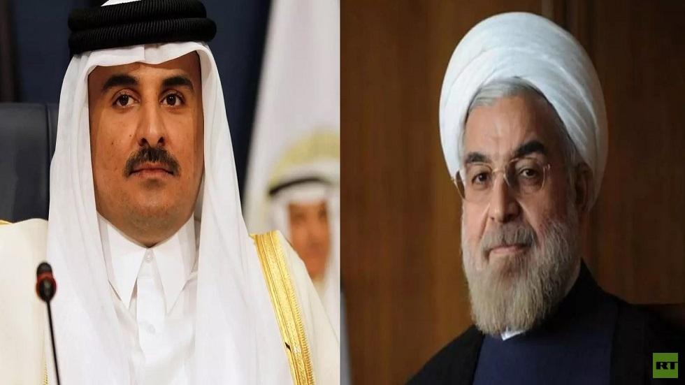 الرئيس الإيراني لأمير قطر: الأمن والاستقرار في المنطقة يتحققان في إطار التعاون الإقليمي فقط