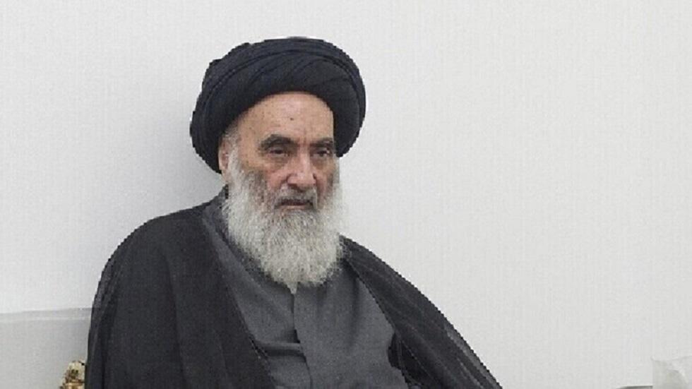 المرجع الديني الأعلى في العراق علي السيستاني