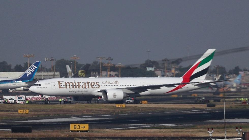 طائرة تابعة للخطوط الجوية الإماراتية - أرشيف