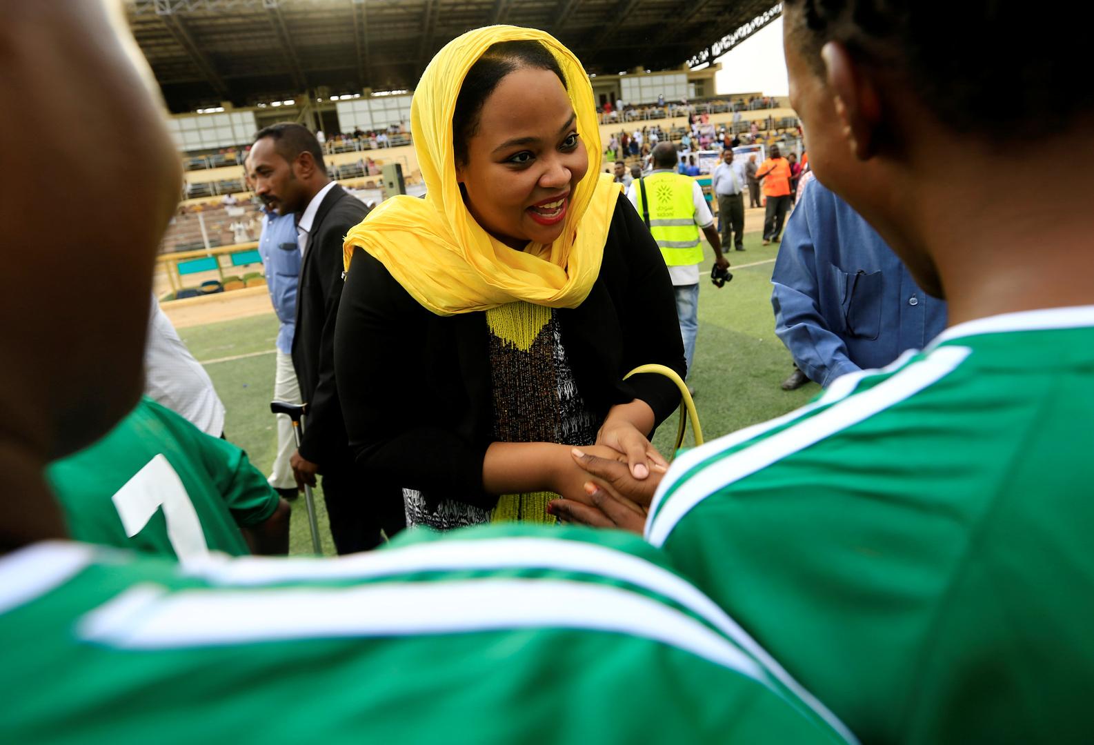 وزيرة الشباب والرياضة السودانية تعلن إصابتها بفيروس كورونا