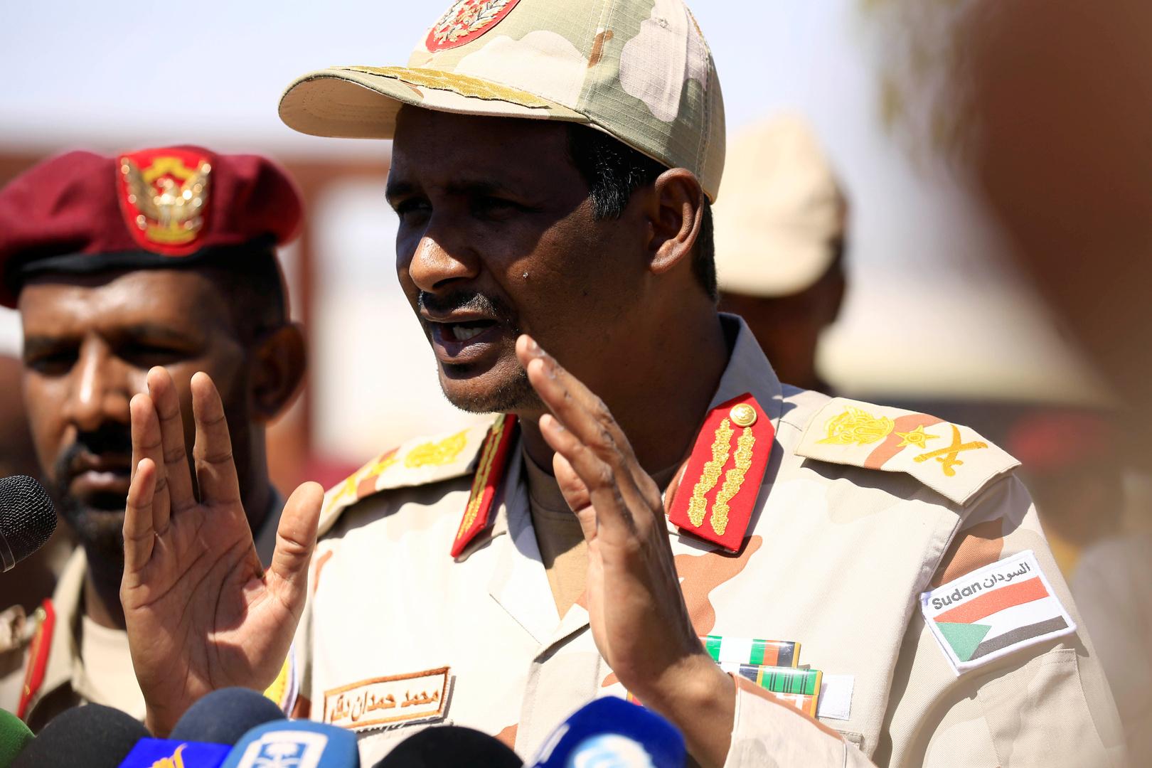 حميدتي: رفضنا هبوط طائرة وزير الخارجية القطري في الخرطوم لأن زيارته كانت مفاجئة
