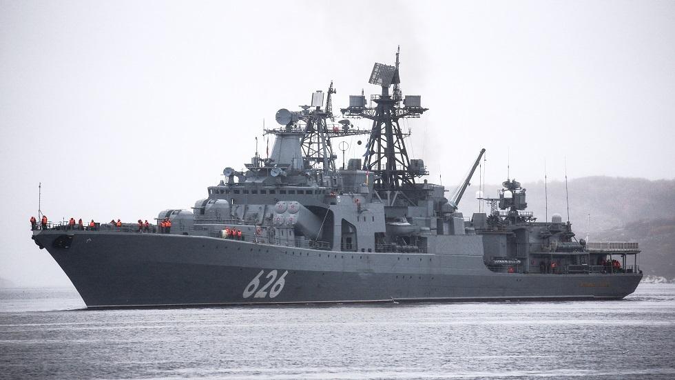 """Корабли """"Вице-адмирал Кулаков"""" и """"Василий Быков"""" выставлены в боевое охранение """"Северного Потока 2"""""""