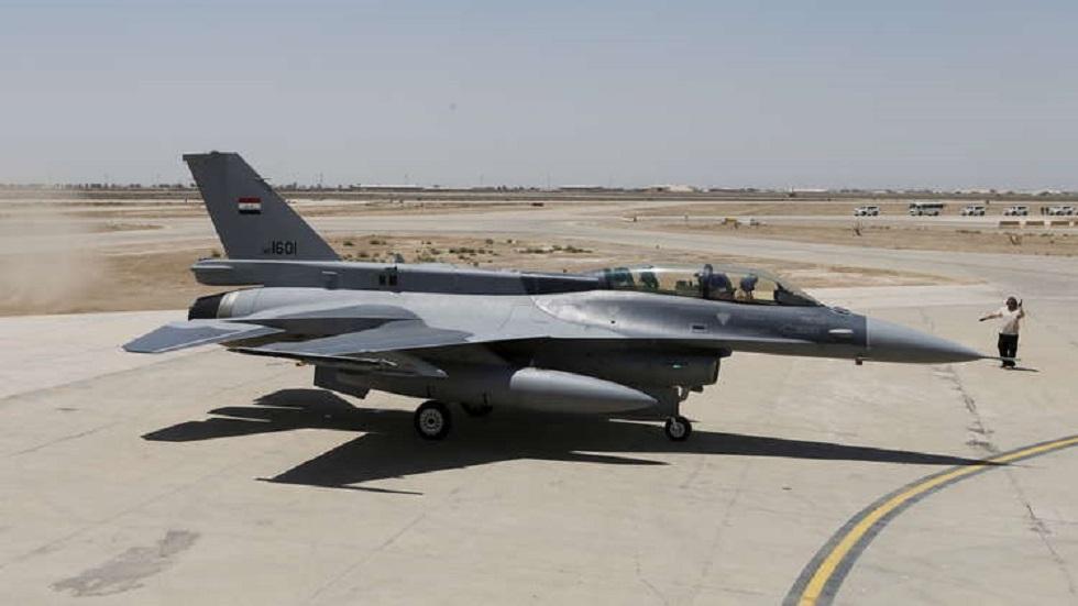 إصابة طائرة للجيش العراقي خلال عملية لتدمير أوكار إرهابيين في صحراء الرطبة