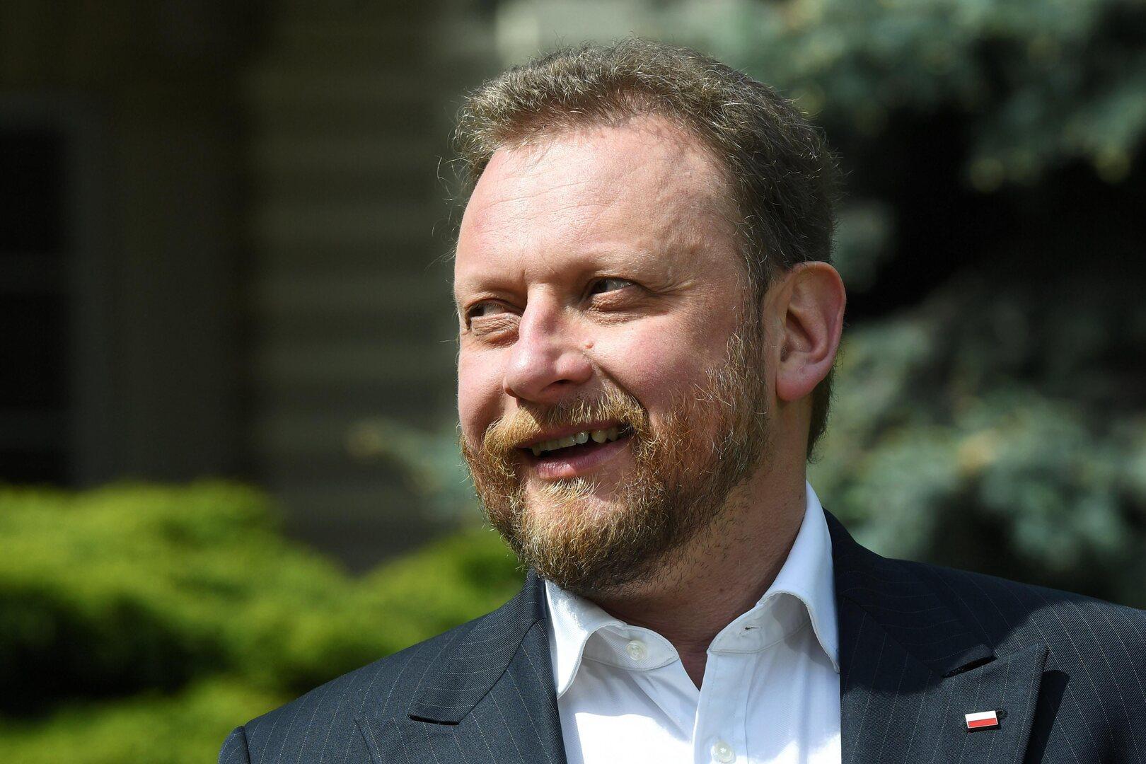 وزير الصحة البولندي لوكاش شوموفسكي