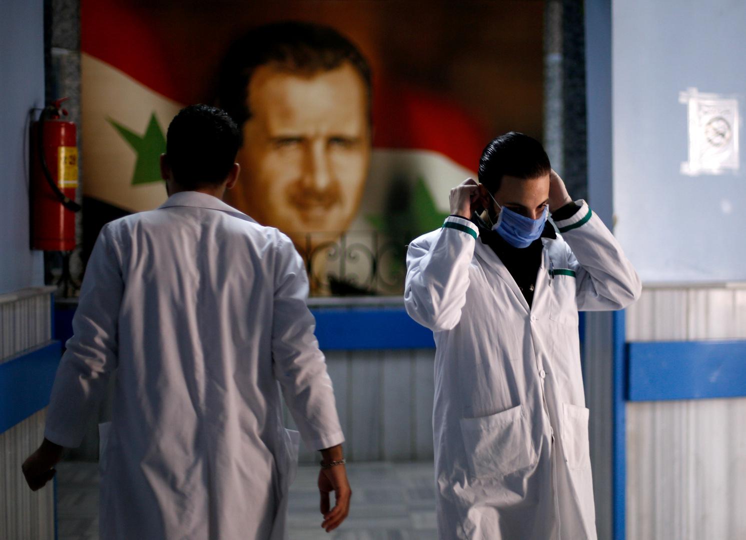 الصحة السورية: تسجيل 15 إصابة جديدة بكورونا ما يرفع العدد الإجمالي إلى 121