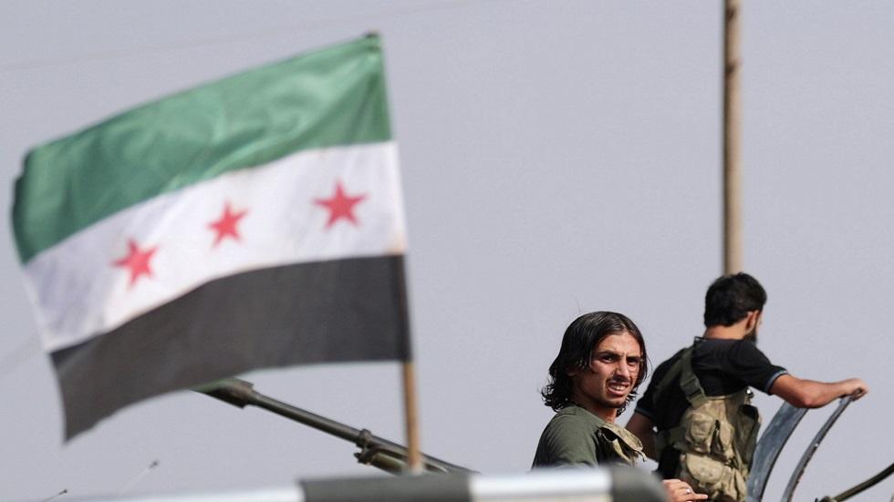 عنصر من الفصائل السورية المسلحة الموالية لتركيا (صورة أرشيفية)