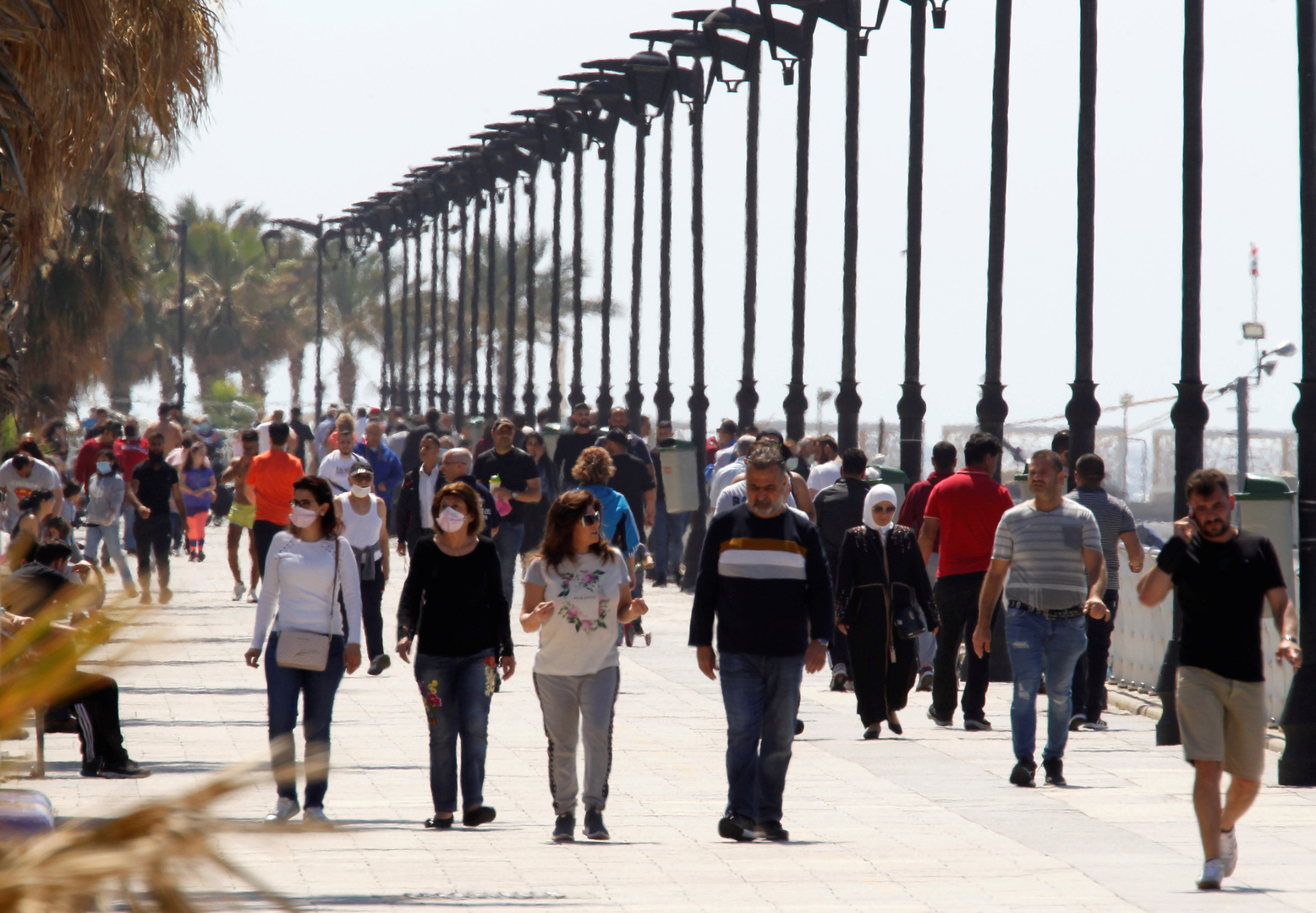 لبنان.. فرض غرامات على عدم ارتداء الكمامة و21 إصابة جديدة بكورونا