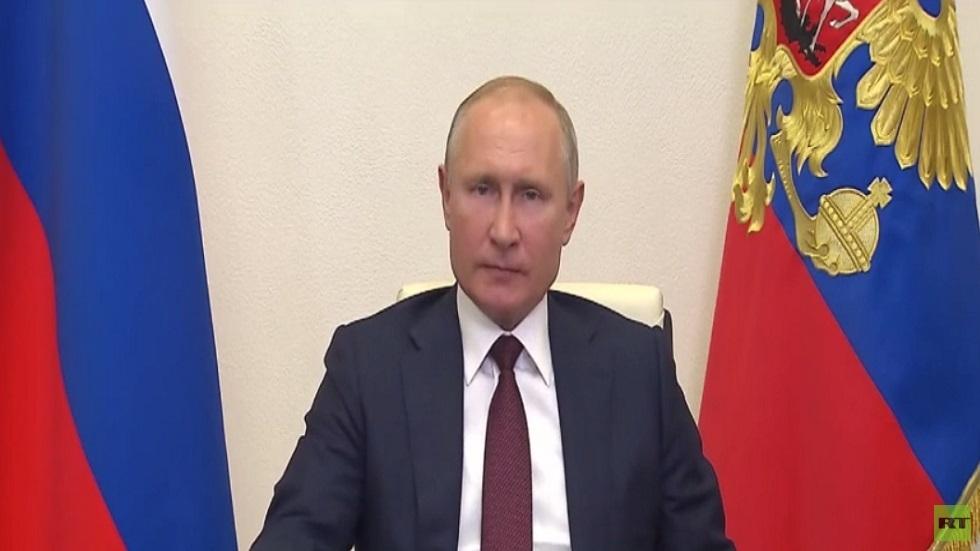 بوتين: روسيا تخطت ذروة انتشار كورونا