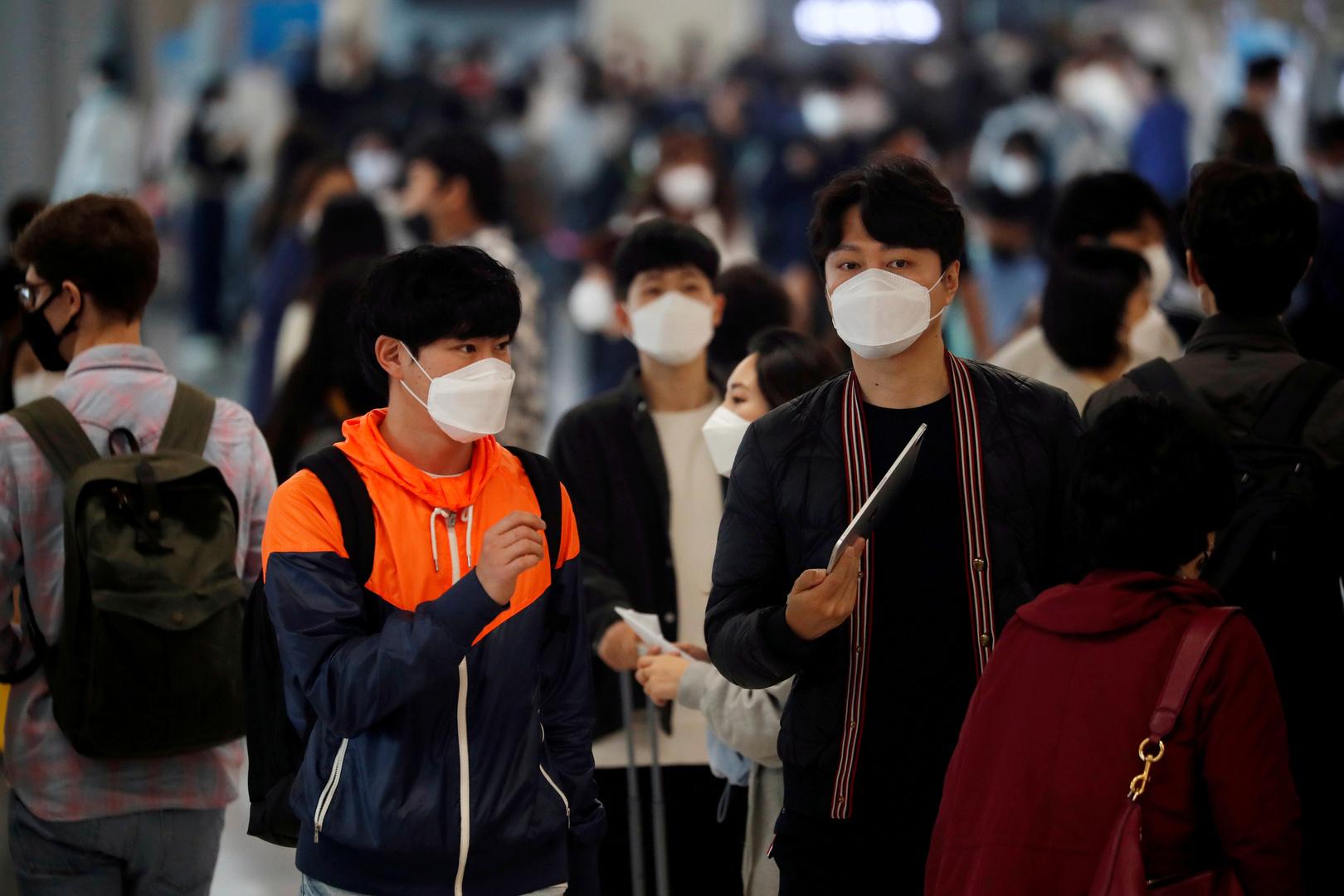 كوريا الجنوبية تسجل أكبر عدد إصابات بكورونا منذ 49 يوما