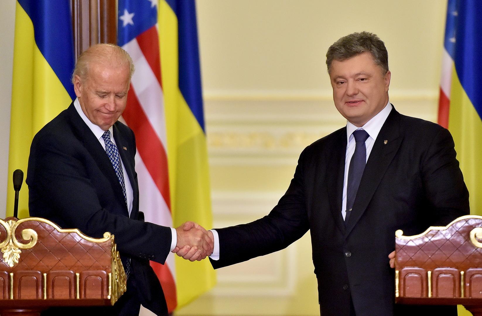 استدعاء الرئيس الأوكراني السابق للاستجواب في قضية بايدن