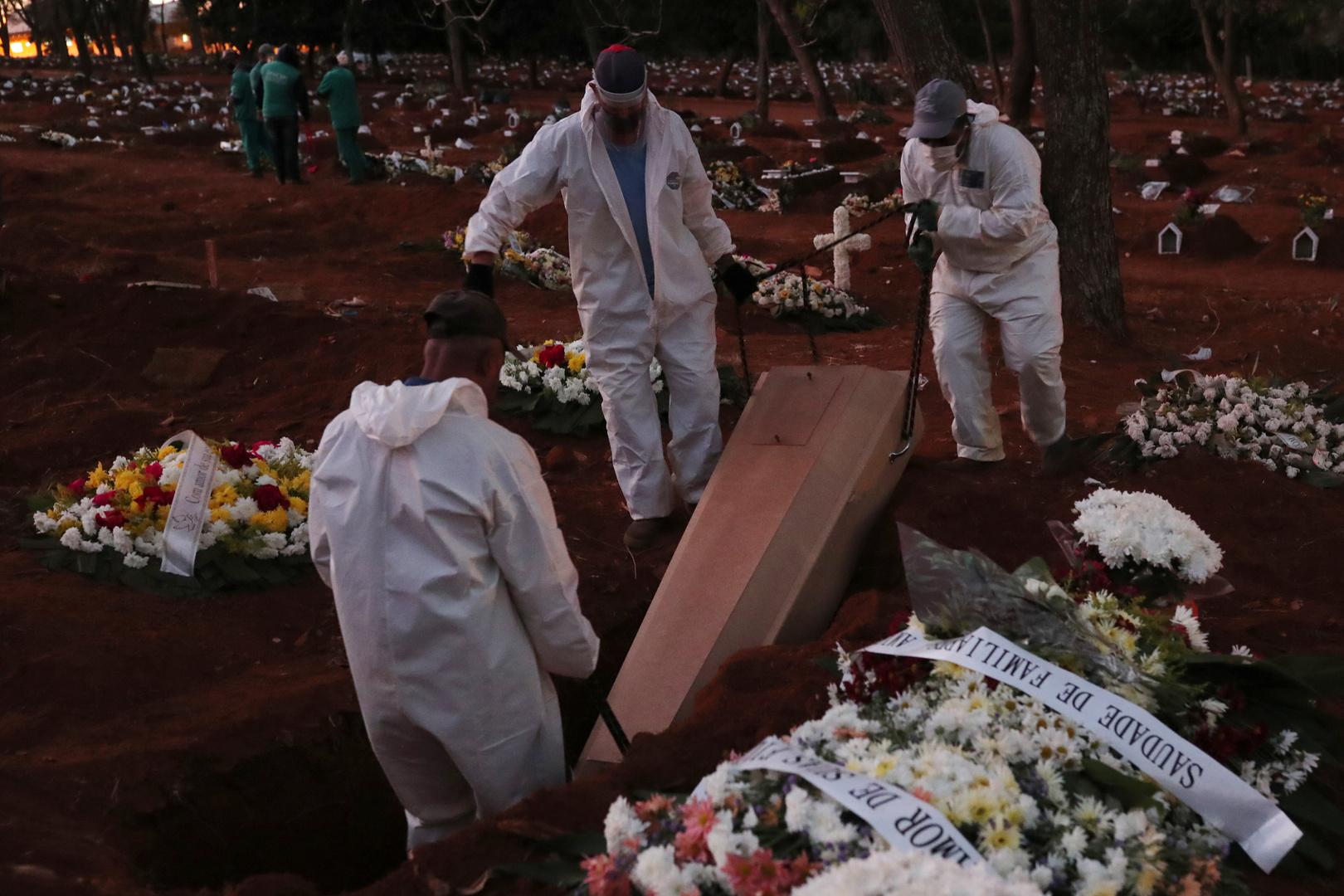 البرازيل.. حصيلة وفيات كورونا تتجاوز الـ25 ألفا