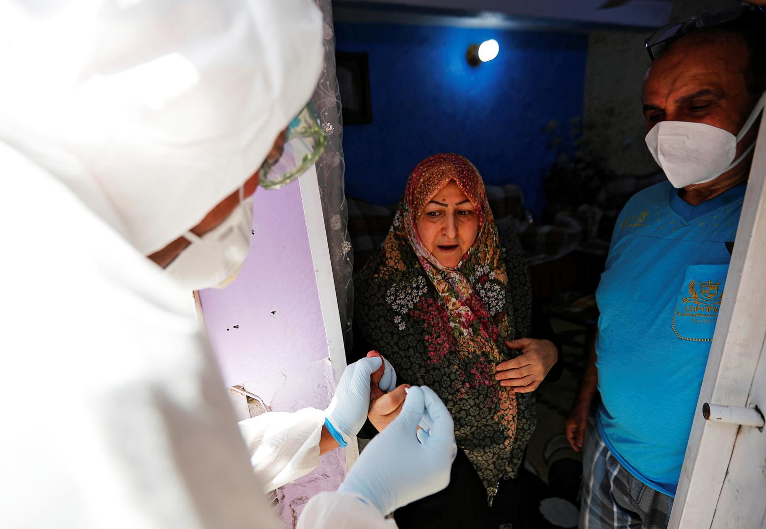 ارتفاع كبير بعدد الإصابات في العراق