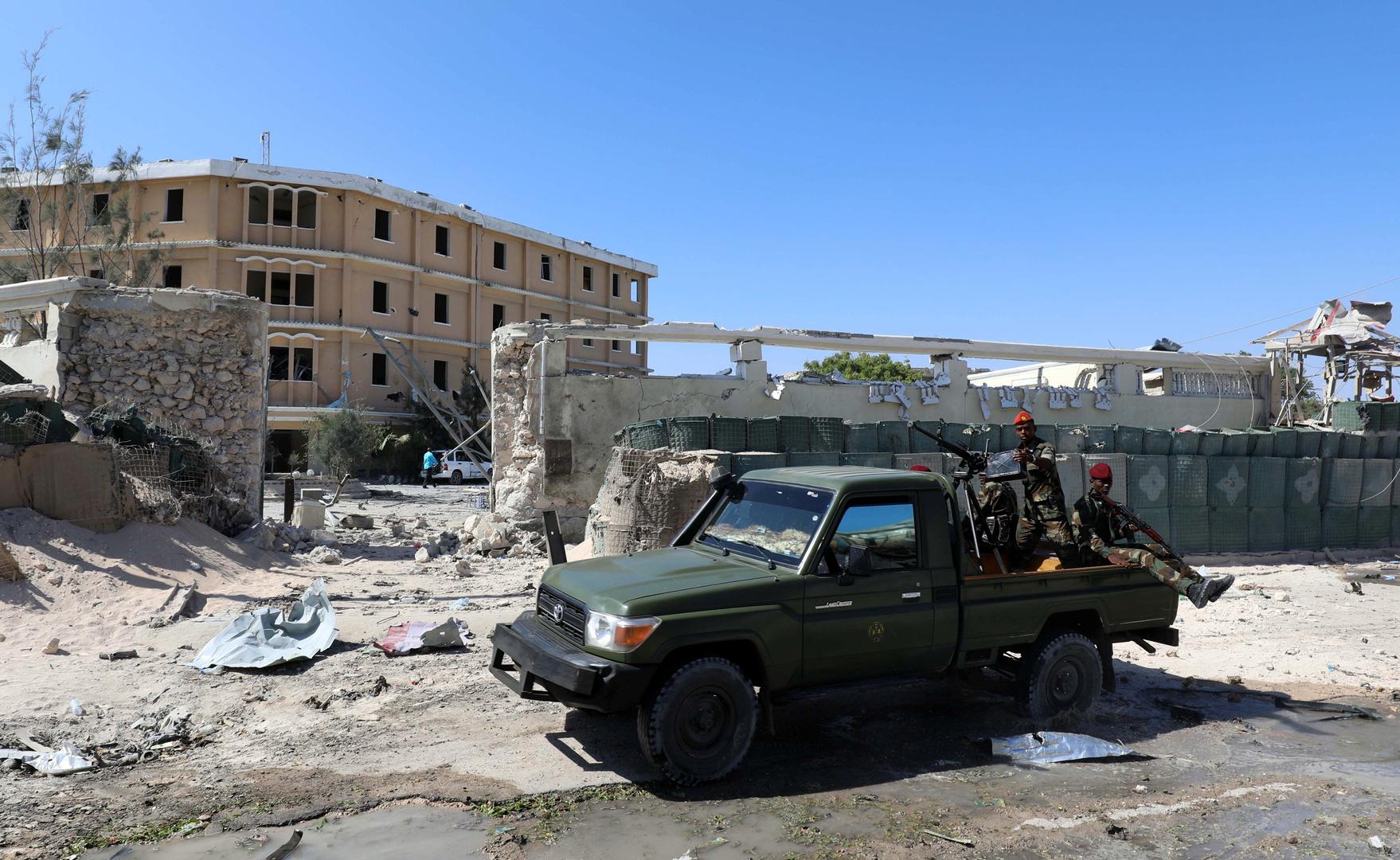 قوات الأمن الصومالية.