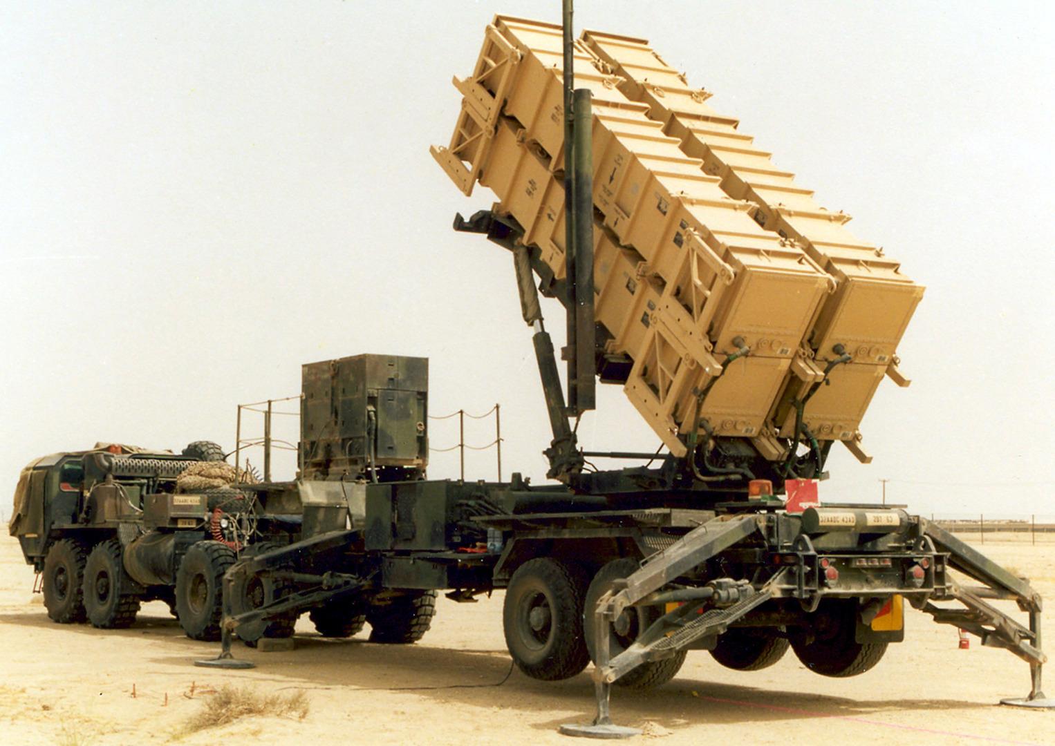 """منظومة صاروخية من طراز """"باتريوت"""" تابعة للقوات المسلحة الكويتية (أرشيف),"""