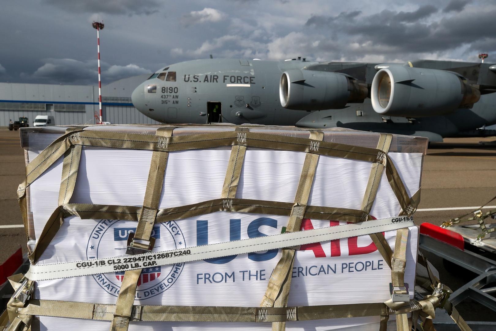 واشنطن: الشحنة الثانية من أجهزة التنفس إلى روسيا الأسبوع القادم