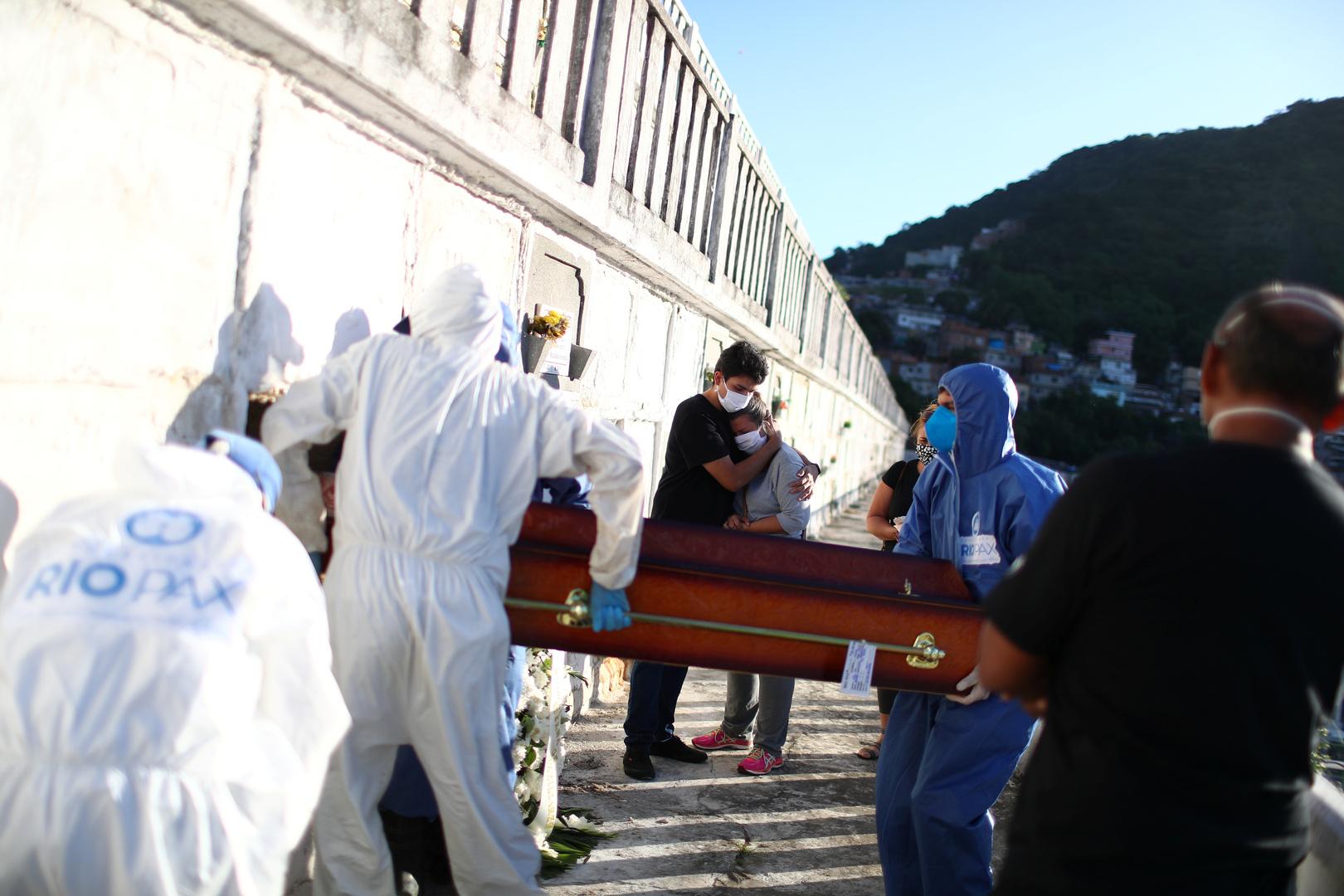 ارتفاع حاد في عدد الوفيات بفيروس كورونا في البرازيل