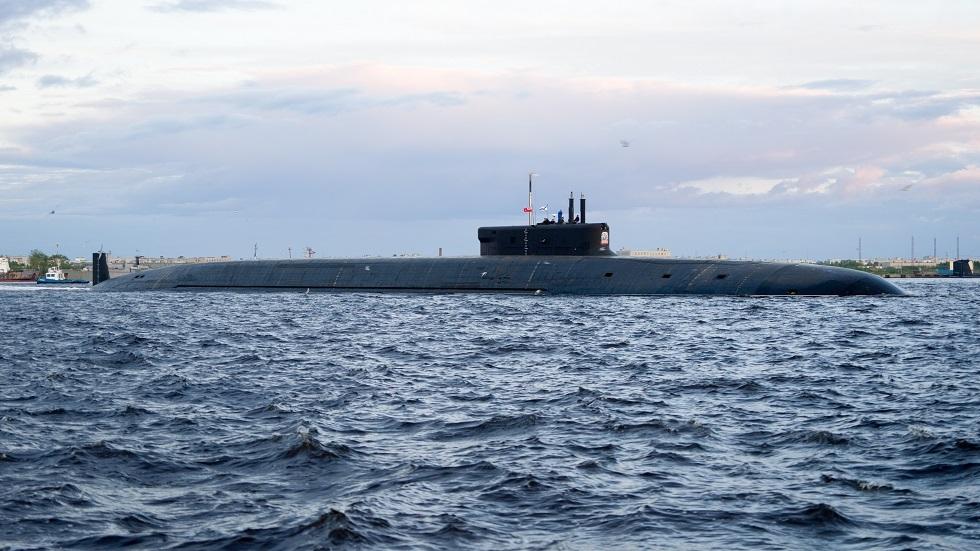 الأسطول الشمالي الروسي يتسلم غواصة استراتيجية جديدة