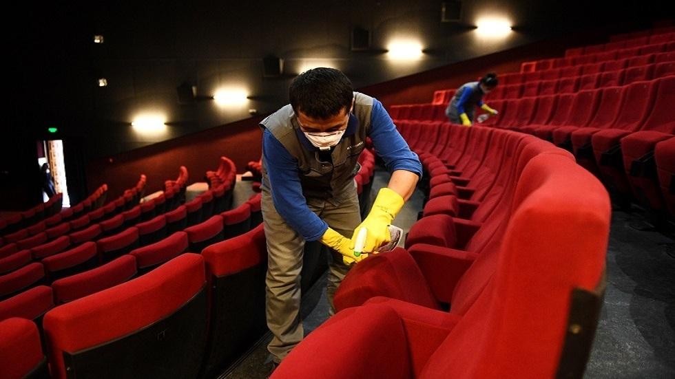 دور السينما الروسية تفتح أبوابها مع مراعاة  قيود  احترازية