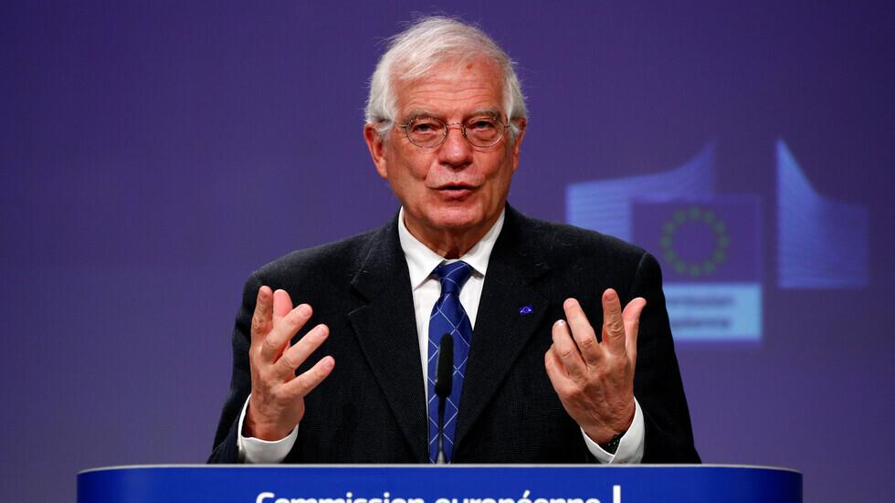 مفوض الاتحاد الأوروبي للسياسة الخارجية، جوزيب بوريل.