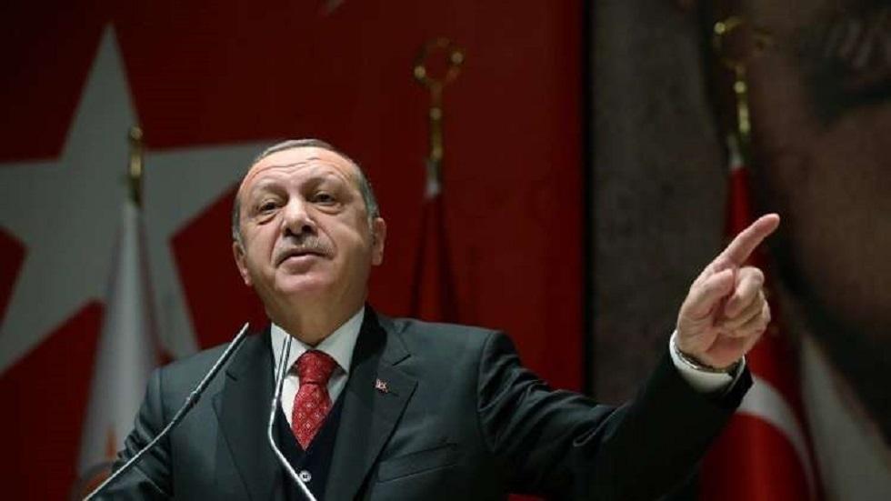 أردوغان: تركيا تحمي مصالحها برا وبحرا