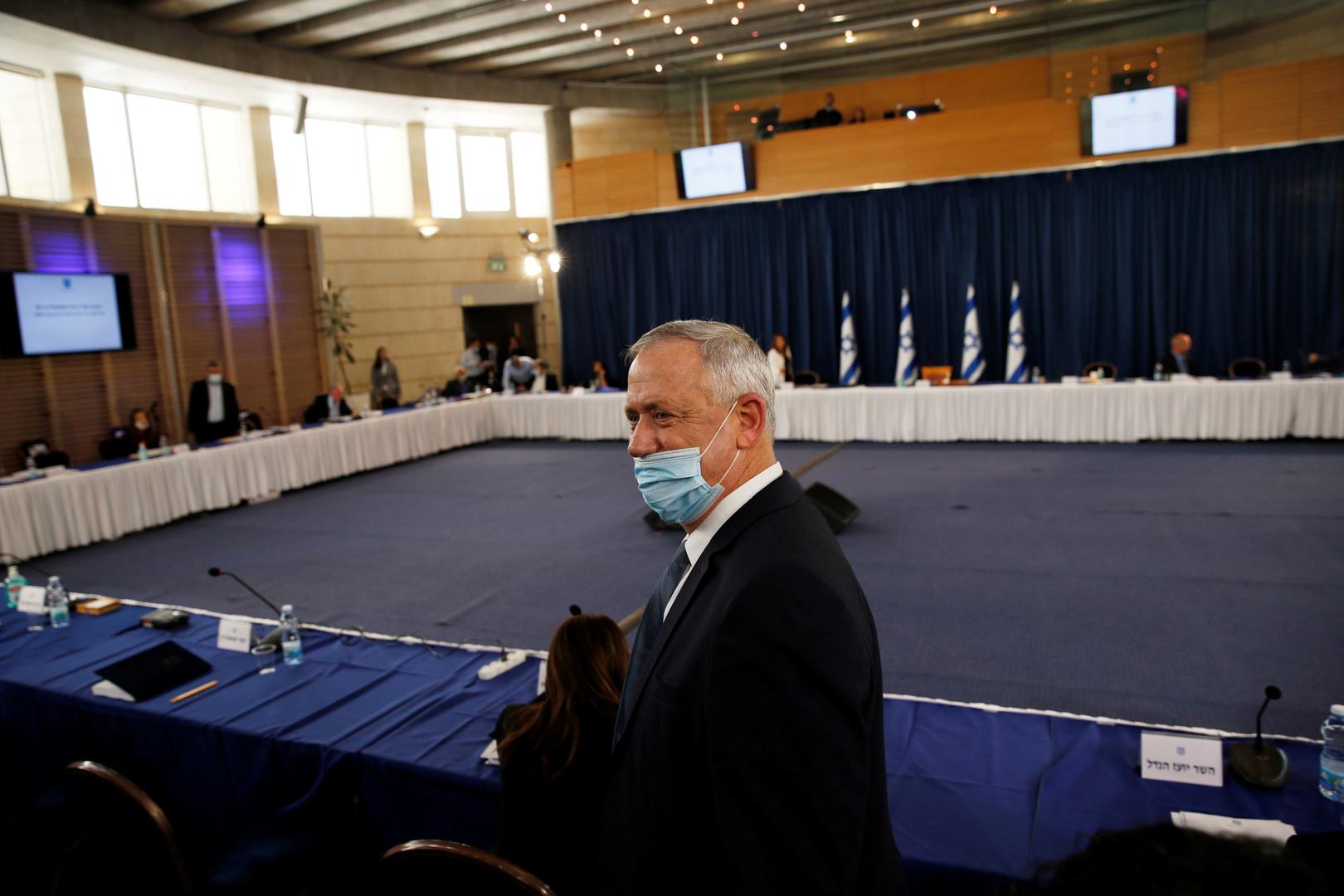 بيني غانتس، وزير الدفاع ورئيس حزب